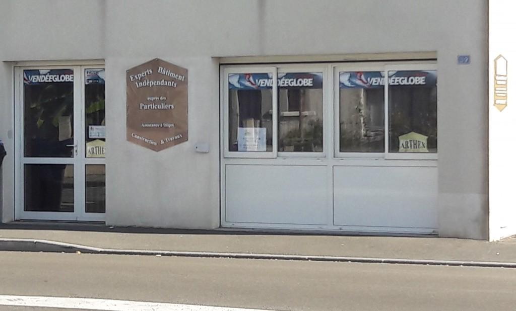 Le cabinet d expertise des sables d olonne aux couleurs du vendee globe experts b timent - Cabinet expertise batiment ...