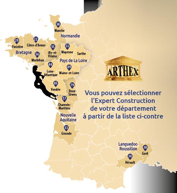 Carte Arthex Expert Batiment